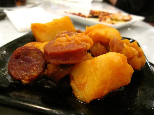 Patates y Despaña Chorizo