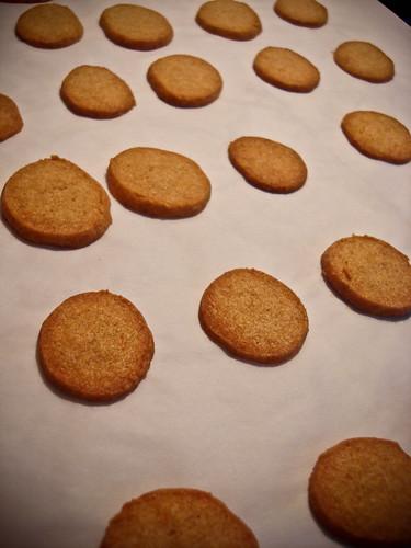 cheese crackers (a la hannah!)