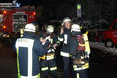 Feuer Klinik Bad Schwalbach 25.01.10