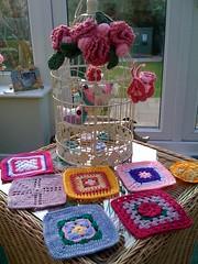 KImbles sent me these beautiful squares.(UK).