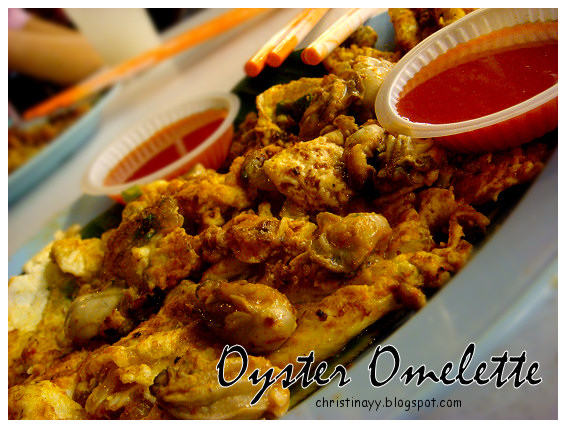 Sungai Pinang: Oyster Omelette