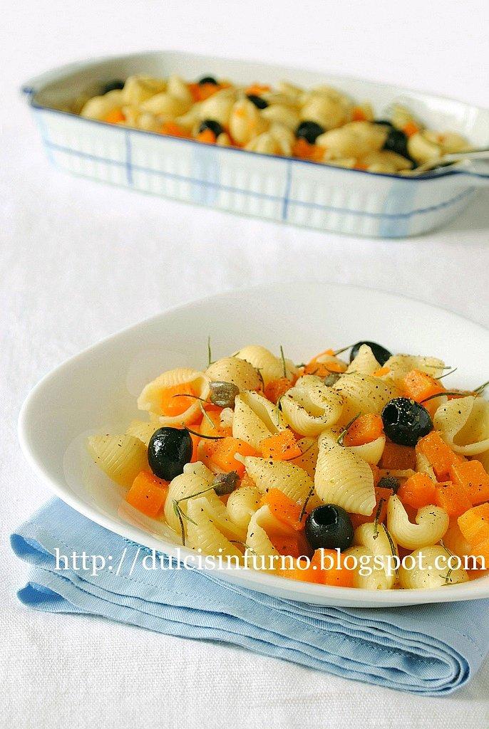 Conchiglie con Zucca e Olive