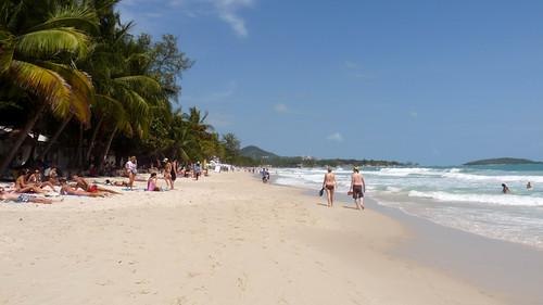Koh Samui Chaweng Beach south コサムイ チャウエンビーチ南1