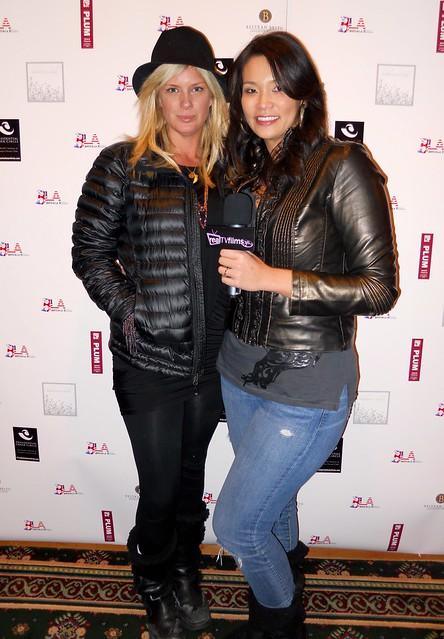 Rachel Hunter, Maggie Brown, Sundance 2010