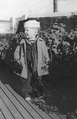 Me in my navy uniform in a WW II victory garden in San Francisco, California (gbaku) Tags: world pictures california old 2 two history hat america garden children photo outfit san francisco war uniform child photos antique picture hats victory historic 1940s photographs photograph ii american historical sailor geschichte americain classicblackwhite