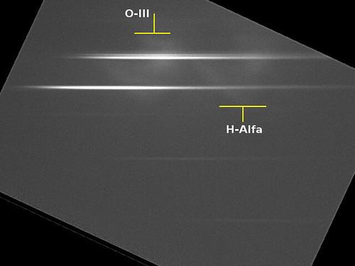 Orion Trapezium stars spectrum