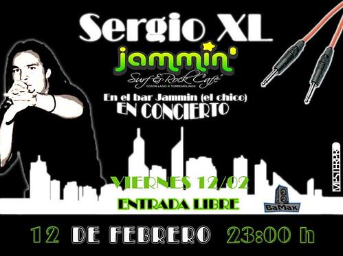 Sergio XL - Concierto 12/02/10