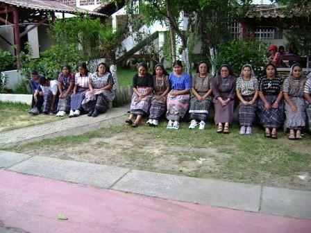 Guatemala shoe donation - Nuns on the wall