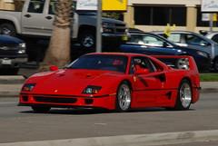 FERRARI F40 (Navymailman) Tags: world california red car woodland sunday super hills supercar scs driven drivenworldcom supercarsundaycom