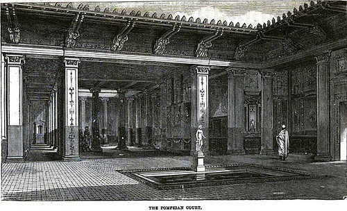 The Pompeiian Court at the Crystal Palace in 1854