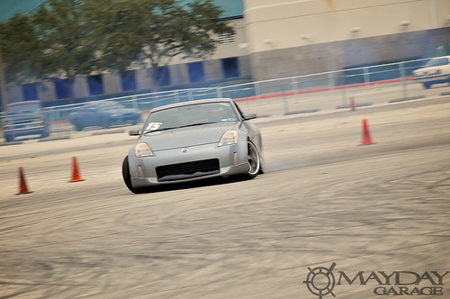A 350z is one of the few newer cars that are popular to drift with