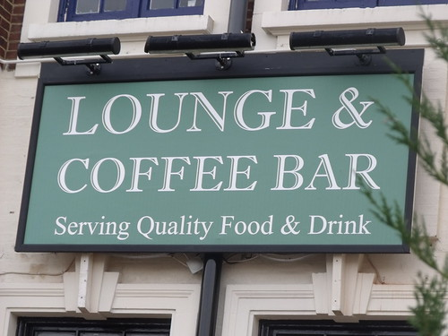 Inn on the Green, pub in Acocks Green Village - Lounge & Coffee Bar - sign