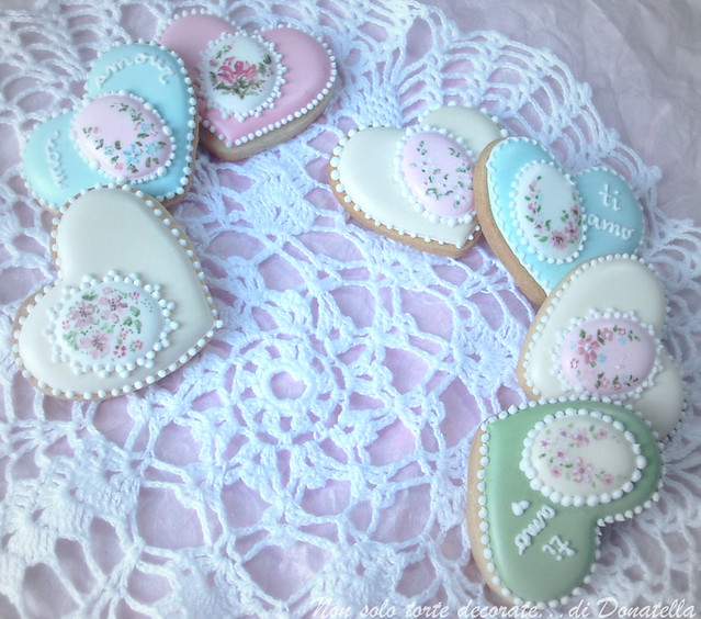R.I. Valentine's Cookies...Vintage