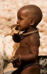 Enfant himba. Kaokoland. Namibie (courregesg) Tags: ethnic traditional tribe tribu afrique africa namibia southernafrica himba people afrika african culture ethnie ethnology namibie safari tribal tribo tribus