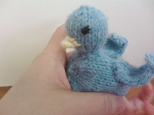 Bluebird from Itty Bitty Toys by Susan B. Anderson