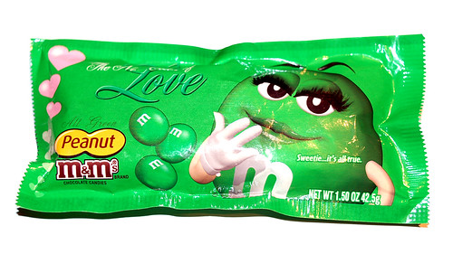 All Green M&Ms Peanut