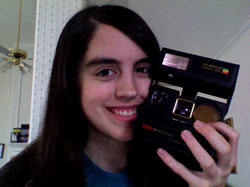 My very own Polaroid camera!