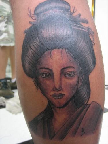 Tattoo Half Sleeve - side -