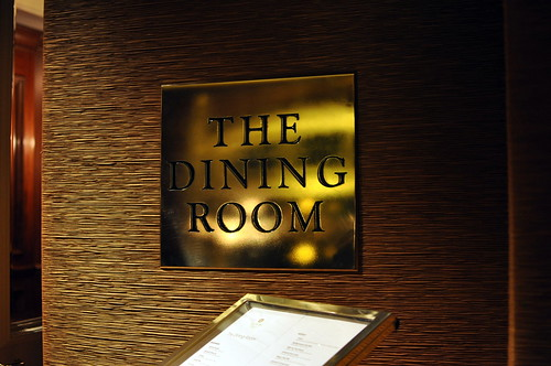 THE DINING ROOM AT THE LANGHAM