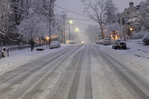 German Street around 5 p.m. on Friday