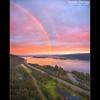Columbia River Gorge (Jesse Estes) Tags: river rainbow columbiarivergorge wwwjesseestescom jesseestesphotography
