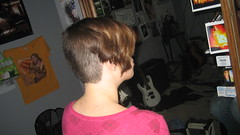 IMG_0865 (raiH enaS) Tags: haircut hair brittany shaved smoking short shorthair buzzednape