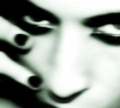 black out (nikkidelmont) Tags: portrait blur self dark eyes nikon gloomy ghostly nikkidelmont