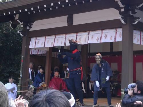 飛鳥坐神社(おんだ祭)@明日香村-06