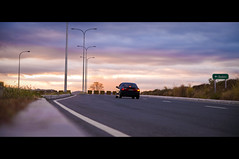 Homeward Bound (michaeljosh) Tags: family sunset car chinesenewyear expressway roadside subic drivinghome lampposts homewardbound homefortheholidays project365 tamron1750mmf28 sctex nikond90 michaeljosh