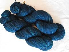 Yarn 021310 2 (zoxozo) Tags: blue teal yarn sundara
