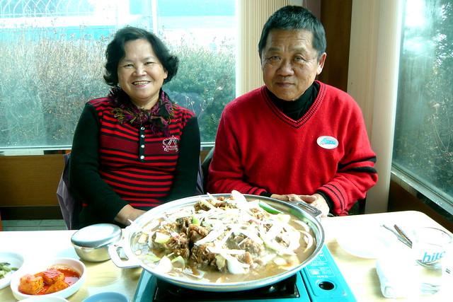 午餐 韓式烤肉