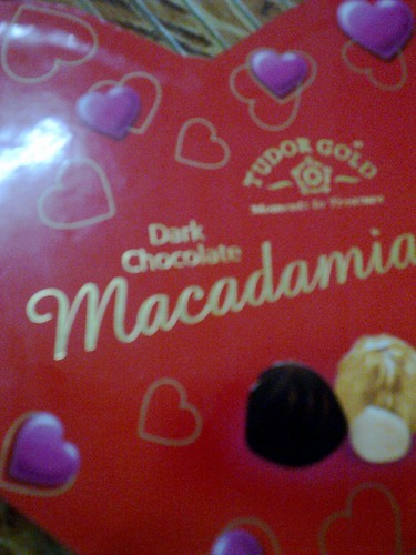 Dark choc box