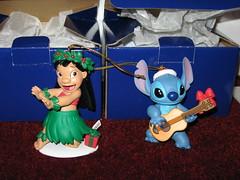 Lilo & Stitch Presidential Ornaments
