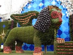 The lion (paola perrone) Tags: carnevale venezia frutta colori sanmarco maschera ecologico verdura leonealato paolaperrone