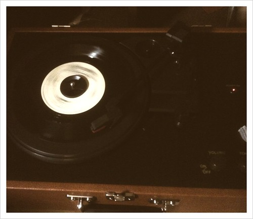 New turntable & Greg dulli spinning