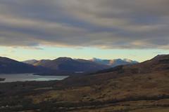 Sunset over Loch Lomond [2] (jaggystu71) Tags: sunset sky lake mood loch dull lochlomond balmaha conichill