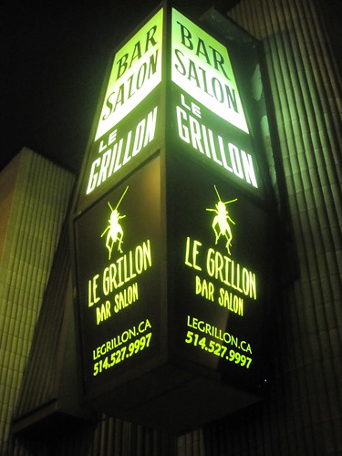 Le Grillon bar-salon