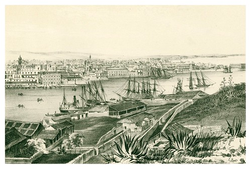 006-La Habana desde Casa-Blanca 3-Álbum pintoresco de la Isla de Cuba- 1853
