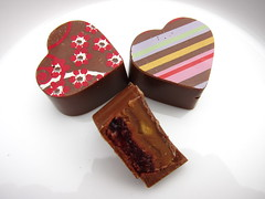Peanut Butter and Jam Chocolates