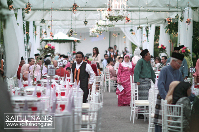 Afardi & Natalia, Reception at Kota Damansara by SN (ok...dont try to find them in the picture, they wasnt in)