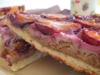 Tarta cu prune si nuci