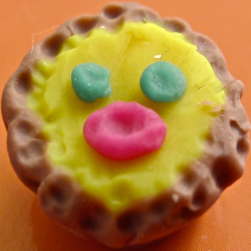 egg custard pie mini sculpey