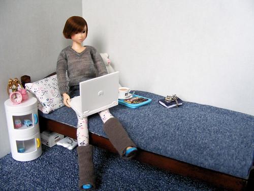 Lilly blogging