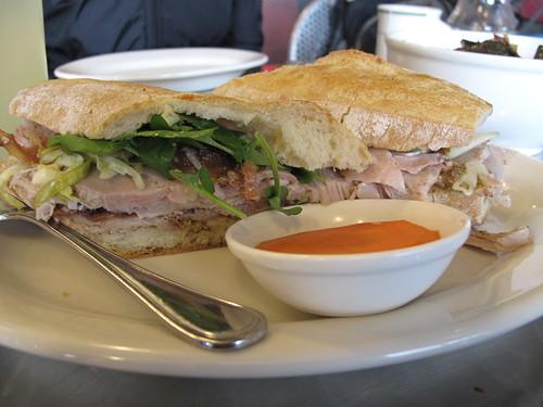 Porchetta Sandwich from Il Cane Rosso