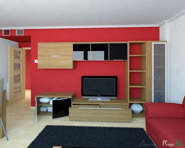 Salon y mueble