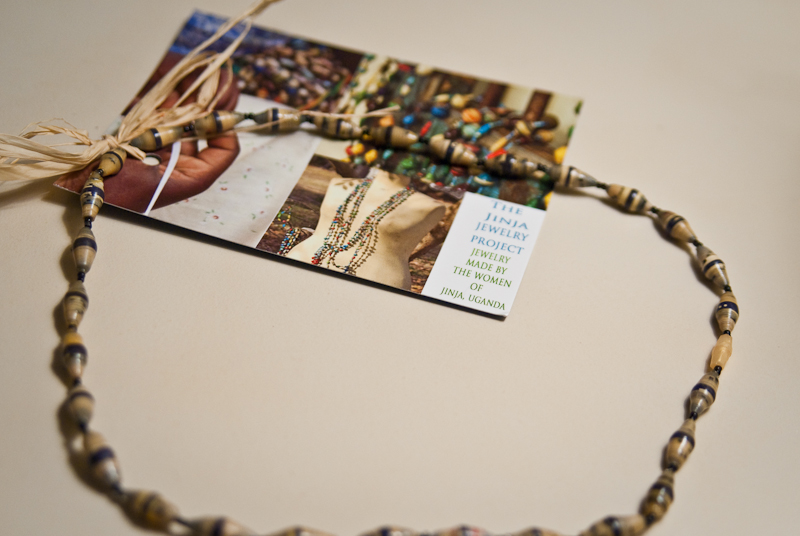 Day 136: Paper Necklace