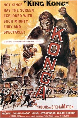 KONGA (1961) US Release