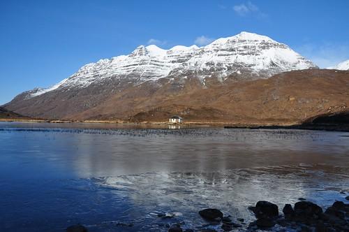 Liathach across Lochan Lasgair