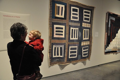 Gee's Bend quilt exhibit