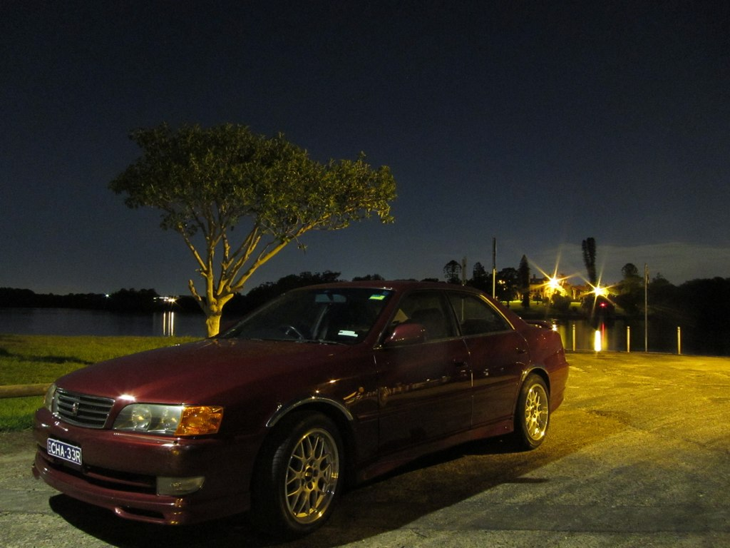 Toyota Chaser JZX100 Wine Red